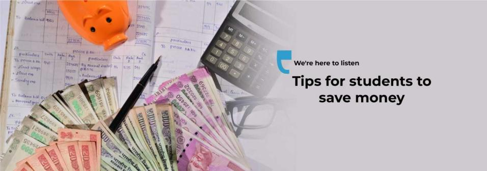 Tips for students to save money